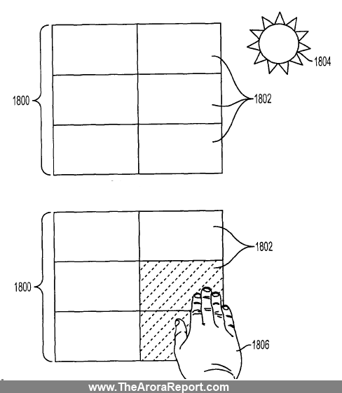 Apple Solar Patent