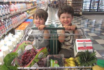 Organic Food Shopping
