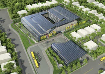 Net-Zero Energy School NYC