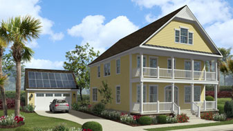 Geothermal Solar House
