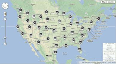 EPA GHG Map