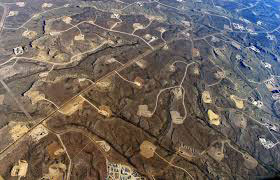 Fracking Pads Wyoming