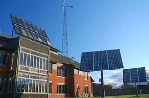 Solar at Northland College