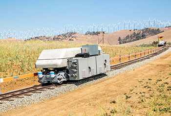 Energy Storage by Rail