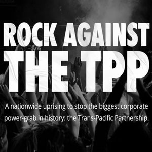 Rock n' Roll Against the Trans-Pacific Trade Deal! National Tour Kicks Off