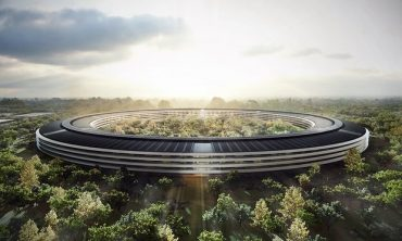 Apple Opens Solar Spaceship Headquarters in April, Amazon Also Expands Renewables