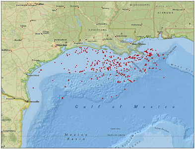 Fracking Gulf of Mexico