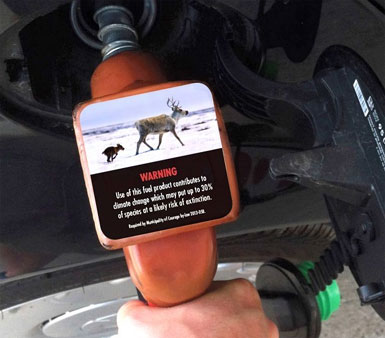 Climate Label Gas Pumps