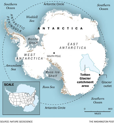 Scientists Fear Pace of Antarctic Ice Melt
