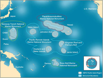 President Obama Finalizes Pacific Marine National Monument