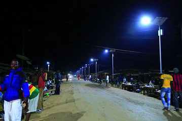 Africa Takes Leap to Solar Lighting