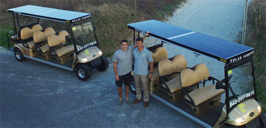 A Simple, Cool Idea: Solar Powered Taxi