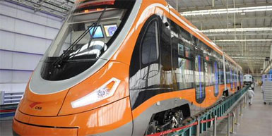China's Hydrogen Tram Rolls Off Assembly Line