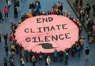 end climate silence circle new york