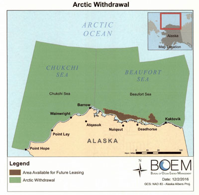 Obama Prevents Sonic Blasts in Atlantic, Mostly Closes Arctic to Drilling