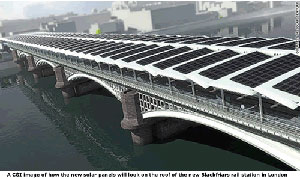 Thinking Outside the Box: Solar-Covered Bridge, Bike Highway for London