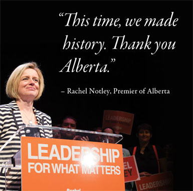 Huge Win for Progressives In Alberta Could Change the Game for Tar Sands