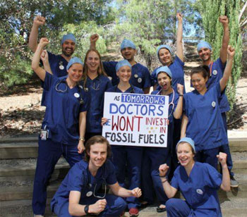 Doctors, Medical Students Say, Divest From Fossil Fuels