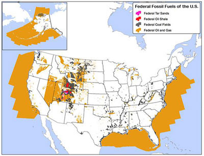Fossil Fuels on Federal Land Water