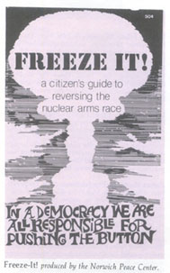 Comparing Climate Activism to the 1980s Nuclear Freeze Campaign
