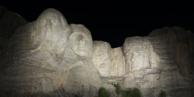 Mount Rushmore Gets a Lighting Retrofit